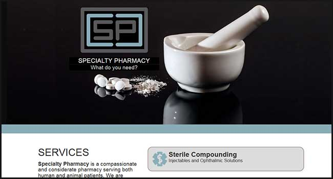 Specialty Pharmacy website
